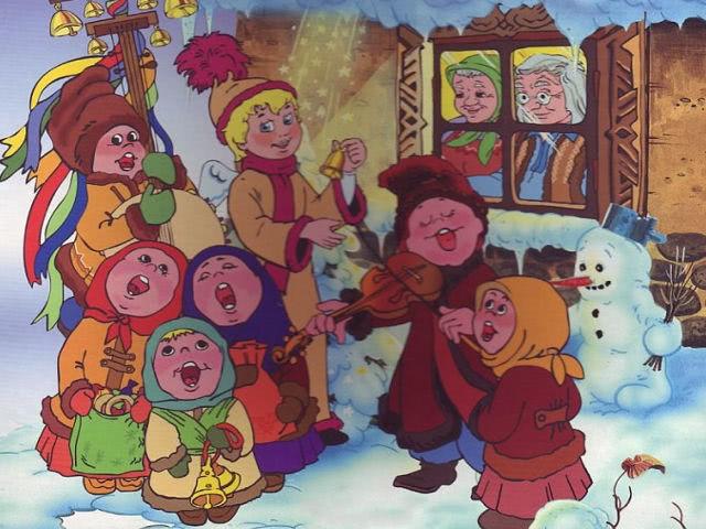 Колядки на Рождество для детей и взрослых на русском, украинском и молдавском языке: короткие и смешные тексты колядок (ноты)