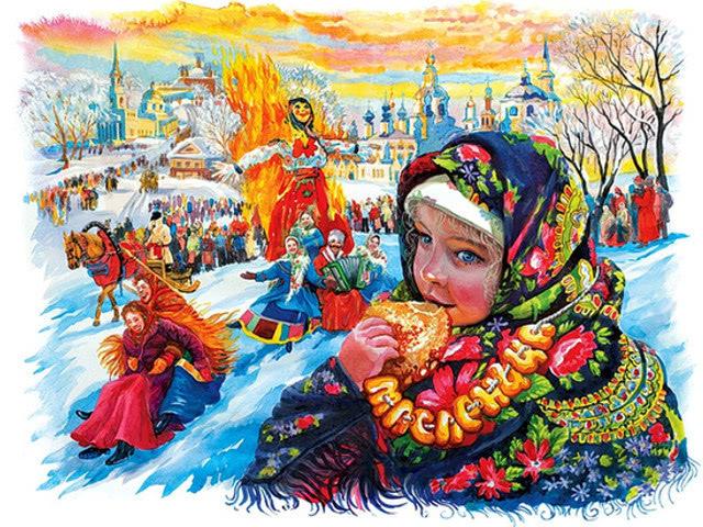 Детские песни на Масленицу — русские народные и современные. Ноты и тексты веселых и задорных масленичных песен