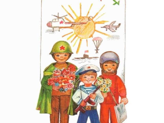 Детские стихи на 23 февраля для мальчиков ...