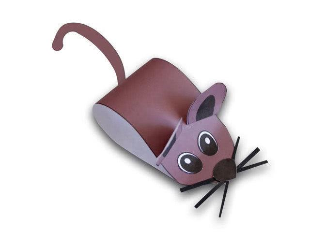 Материалы, необходимые для изготовления мышки: — Цветная бумага, — ножницы,…
