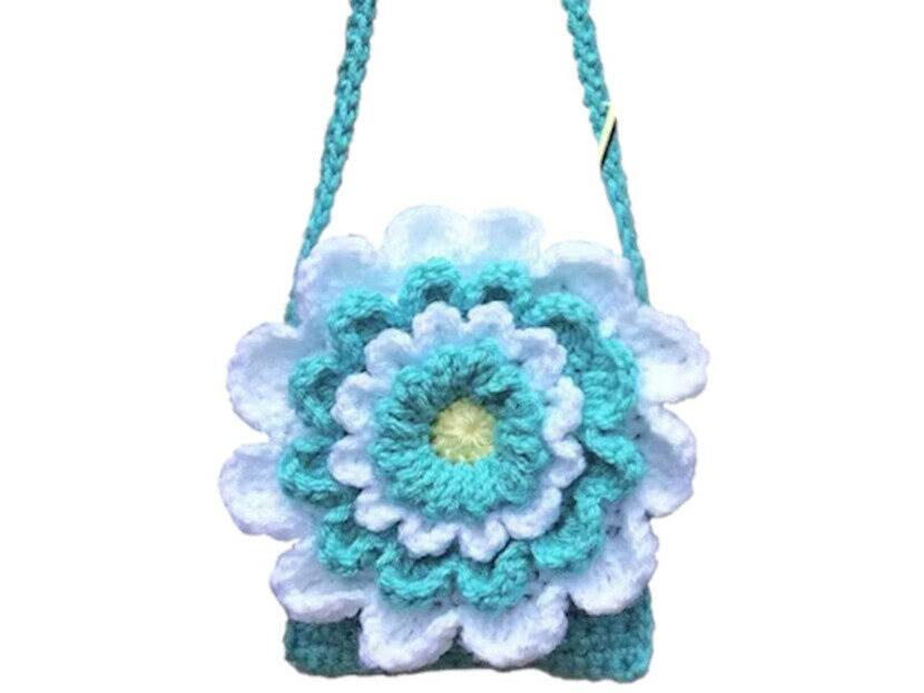 Вязанная крючком сумочка для девочки со схемой и описанием
