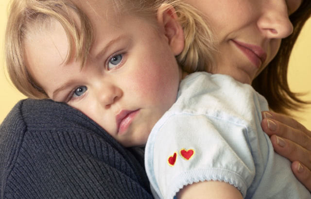 Почему ребёнок не отпускает маму в садике