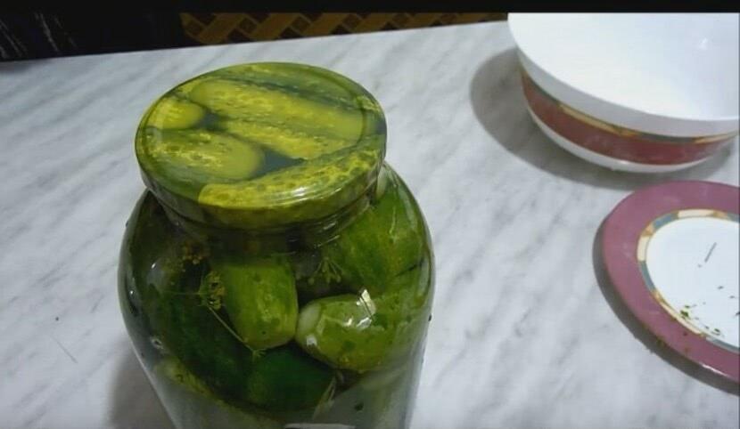 Пошаговый рецепт засолки огурцов холодным способом с горчицей на банку 3л_3
