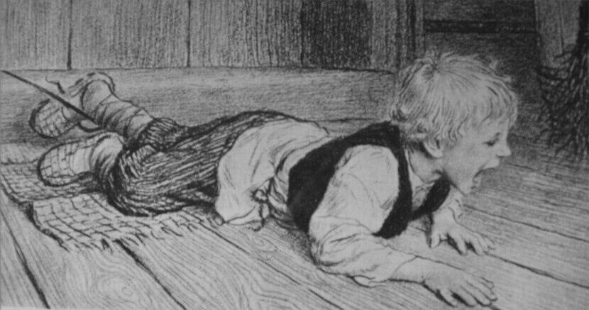 Читать рассказ Ушинский — Трусливый Ваня