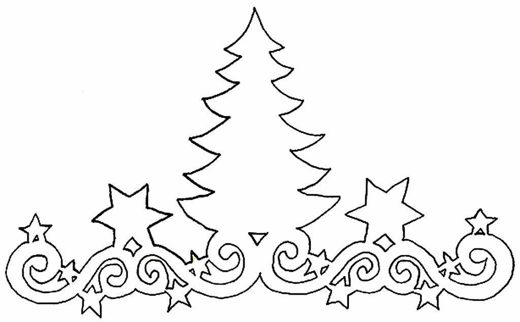 Крупные новогодние вытынанки на окна: распечатать красивые картинки и шаблоны 2020-3