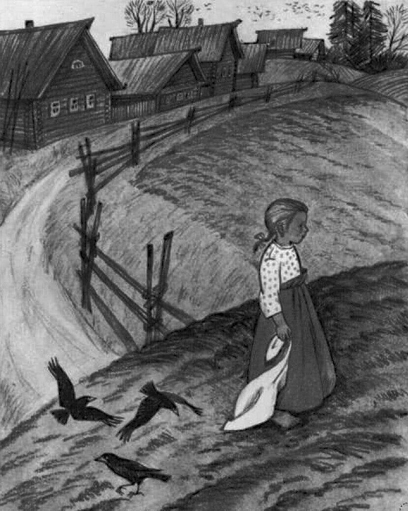 Читать рассказ Ушинский — Как рубашка в поле выросла