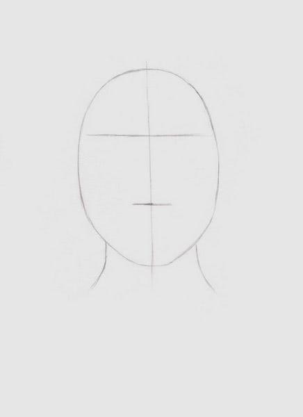Срисовка портрета карандашом для девочек-2