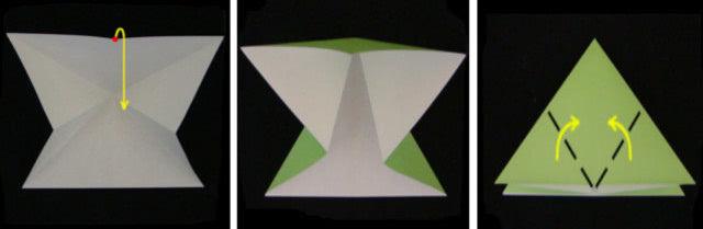 Кролик: объёмная поделка на пасху из бумажных салфеток_3