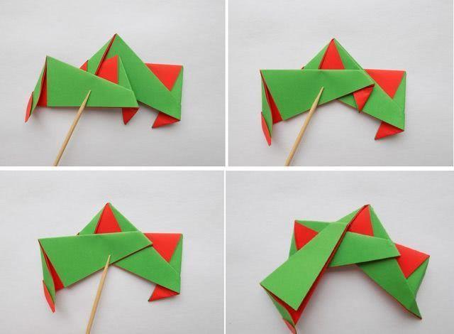 Необычные поделки на Новый год из бумаги своими руками: лёгкие и интересные_6