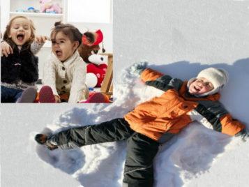 Подвижные игры для детей младшего и среднего дошкольного возраста в помещении и на улице зимой