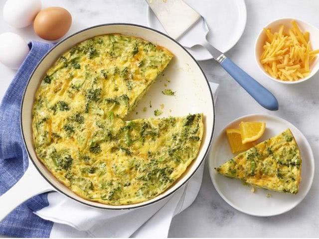 Фриттата из овощей делает яйца более полезными ...