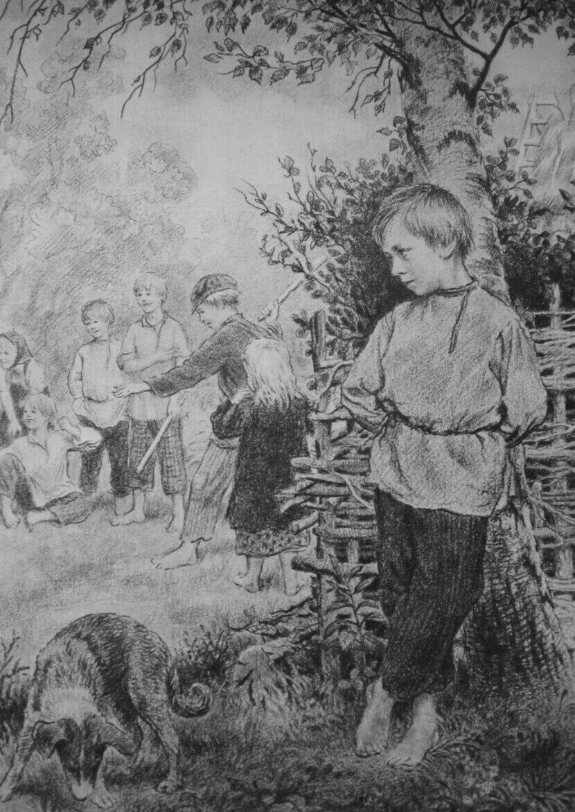 Читать рассказ Ушинский — Худо тому, кто добра не делает никому