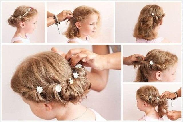 Прическа на короткие волосы в греческом стиле_1