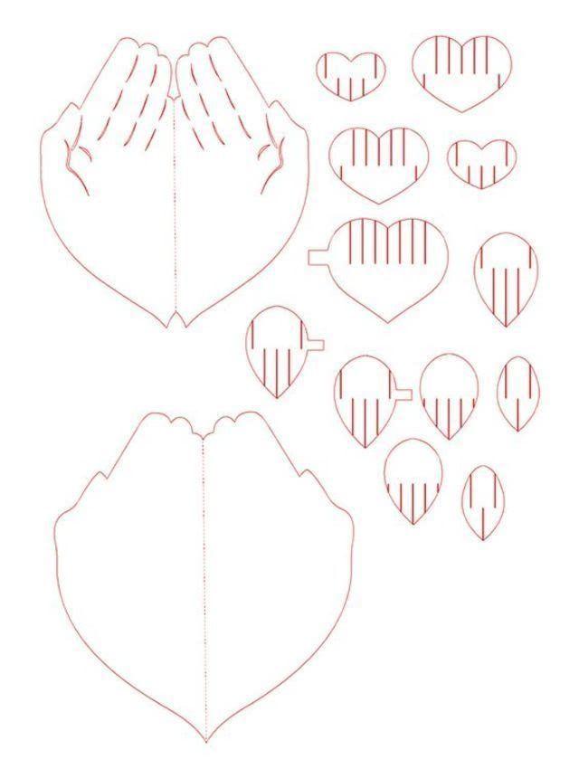 Валентинка своими руками из бумаги для детей «Сердце в ладонях»: мастер-класс для ребенка_2
