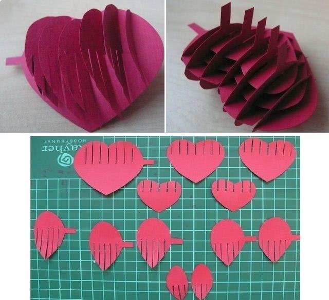 Валентинка своими руками из бумаги для детей «Сердце в ладонях»: мастер-класс для ребенка_3