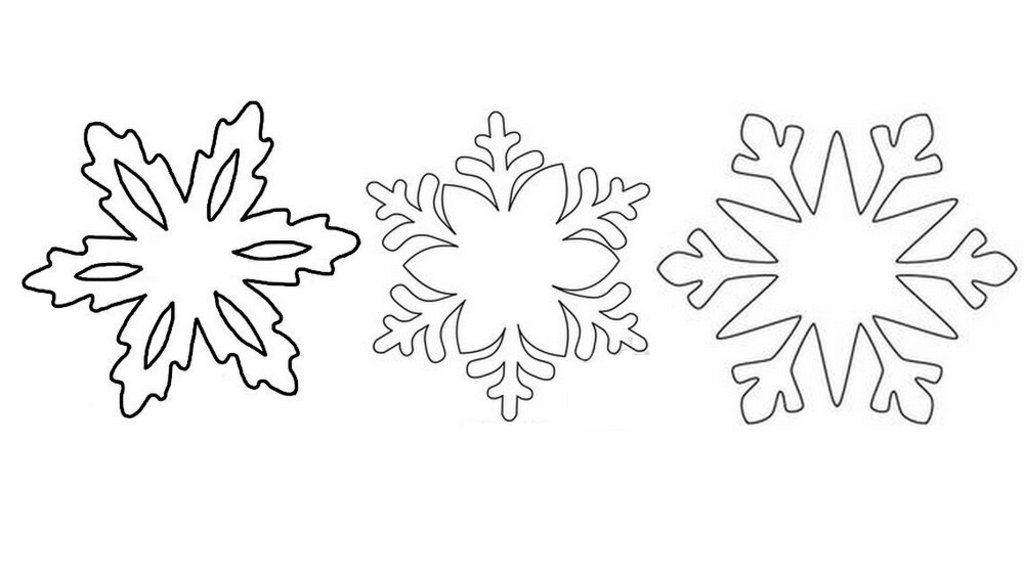 Вытынанки снежинки на окна из бумаги: новые шаблоны для вырезания-1