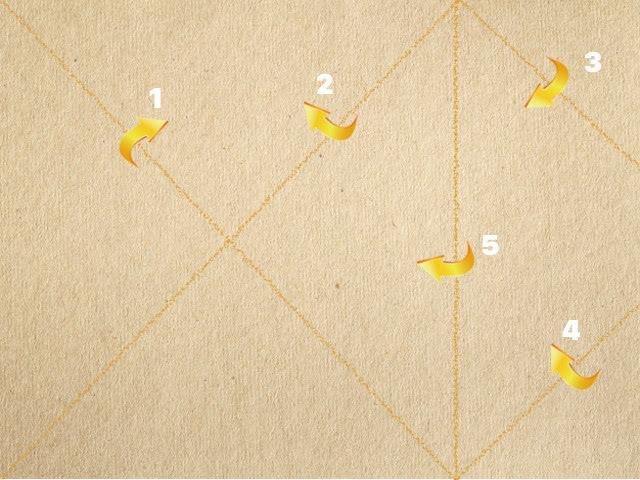 Открытка - солдатский треугольник «С Днём Победы!» своими руками_3