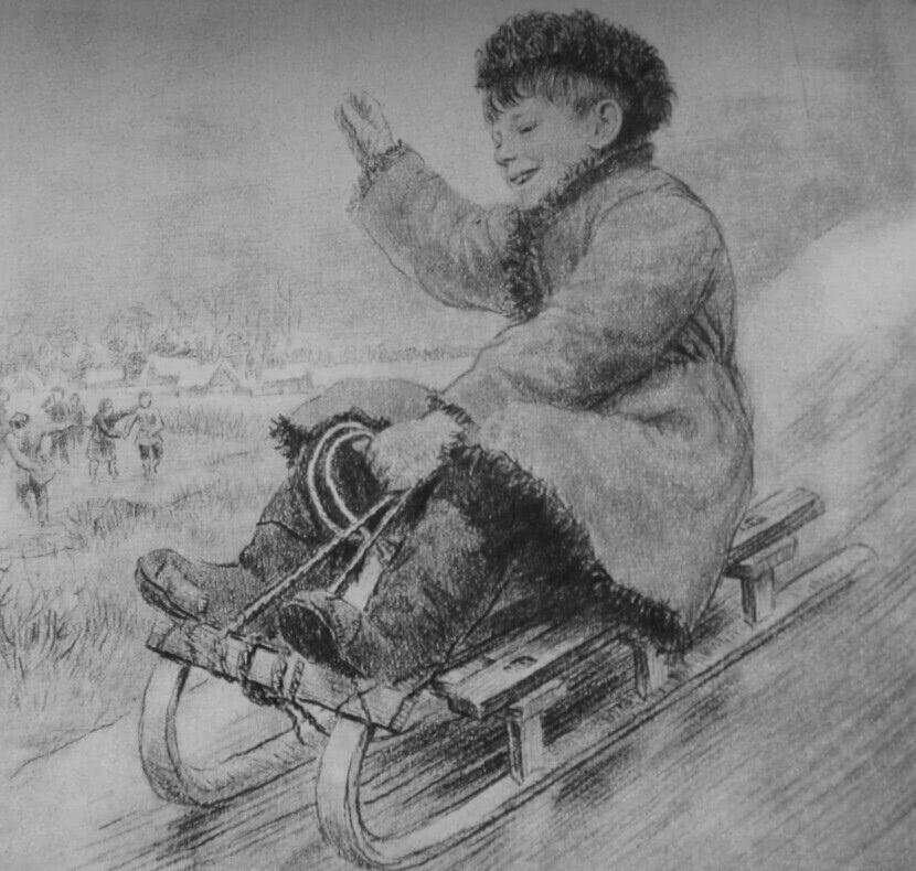 Читать рассказ Ушинский — Четыре желания - 1