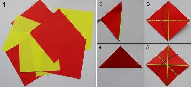 Цветок в технике оригами - Такую красоту можно нести на конкурс поделок_1