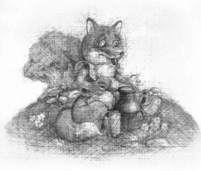 Читать сказку Ушинский — Лиса и кувшин