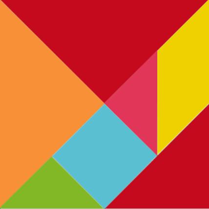 Шаблоны для распечатки классического и объёмного танграма_15х15_цветной