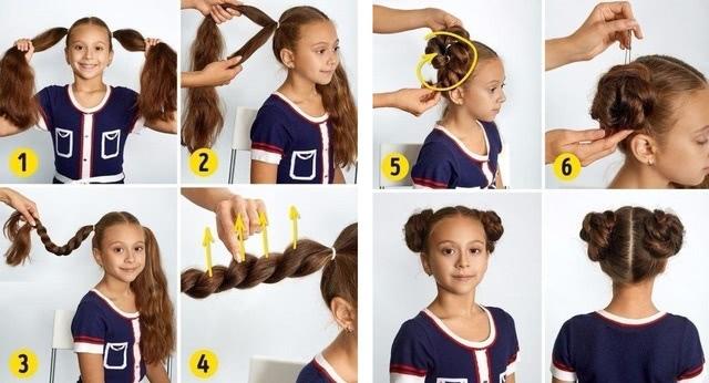 Прически с косами_2