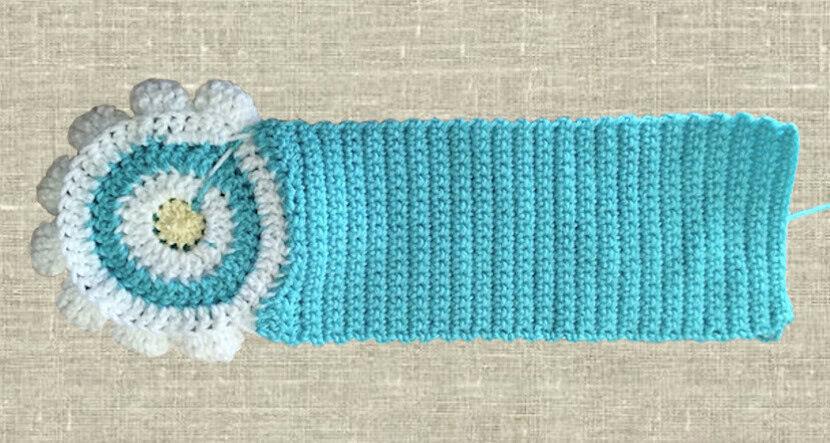 Вязанная крючком сумочка для девочки со схемой и описанием_2