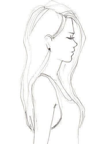Поэтапное рисование людей карандашом для девочек 10 лет-6