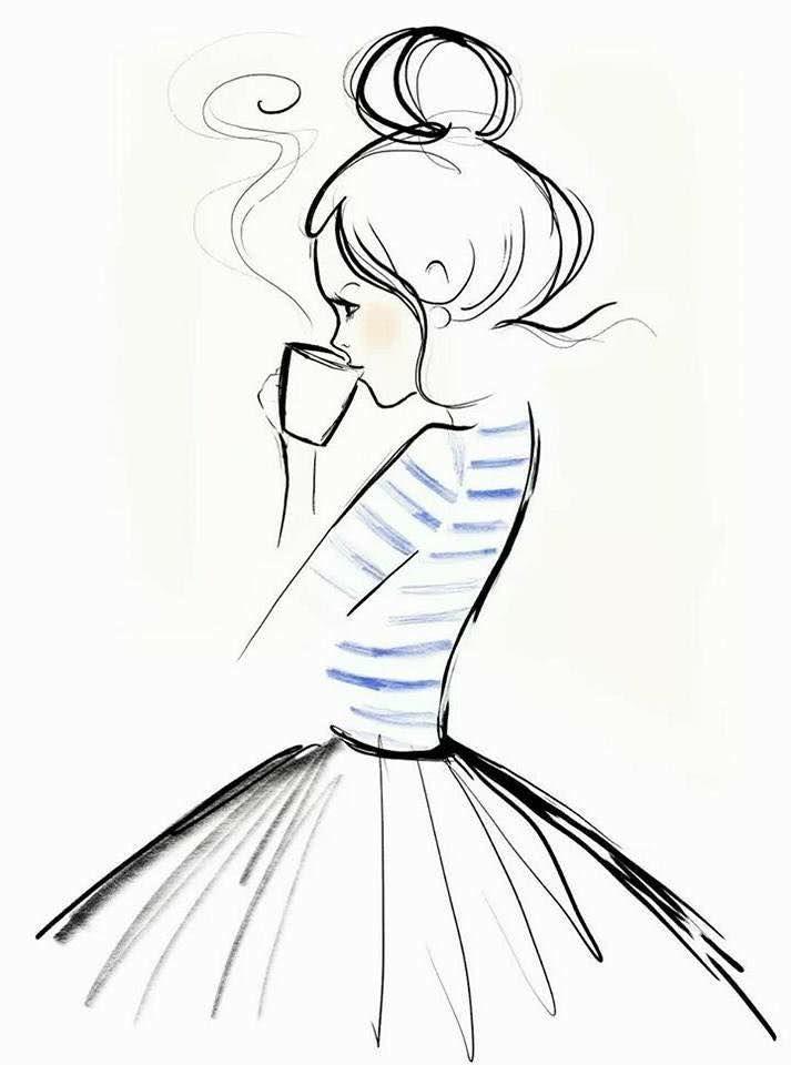 Поэтапное рисование людей карандашом для девочек 10 лет-7