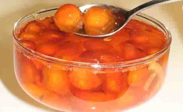 Густое варенье из черешни с косточкой на зиму с целыми ягодами - рецепт пошагово_1