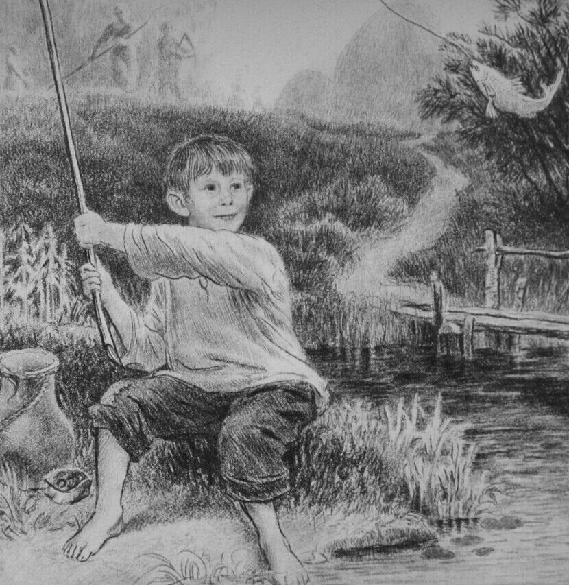 Читать рассказ Ушинский — Четыре желания - 3