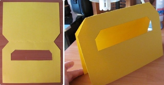 Красивый «Ящик с инструментами»: шаблон красивой бумажной поделки папе_3