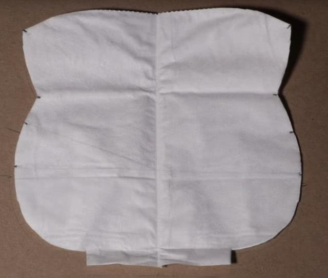 Изготовление маски из HEPA фильтров для защиты от коронавируса пошагово_4