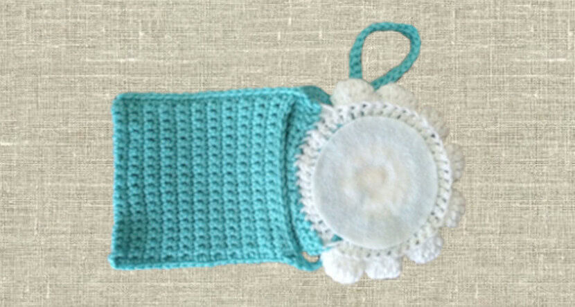 Вязанная крючком сумочка для девочки со схемой и описанием_4
