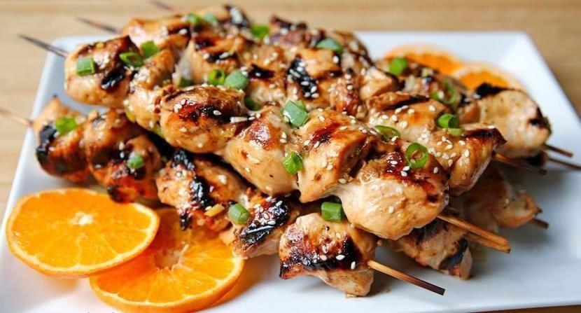 Лучший маринад для шашлыка из курицы с соевым соусом и медом, пошаговый рецепт (можно готовить в духовке)_1