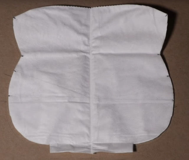 Изготовление маски из HEPA фильтров для защиты от коронавируса пошагово_5