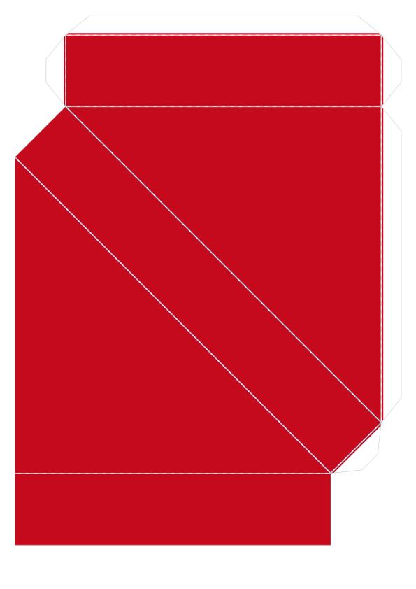 Шаблон объёмного танграма из бумаги для распечатки_3