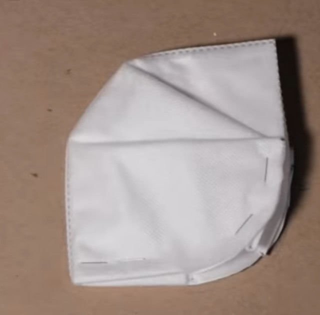 Изготовление маски из HEPA фильтров для защиты от коронавируса пошагово_6