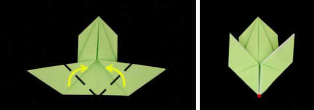 Кролик: объёмная поделка на пасху из бумажных салфеток_7