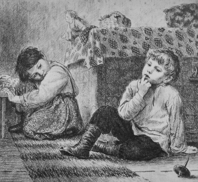 Читать рассказ Ушинский — Вместе тесно, а врозь скучно