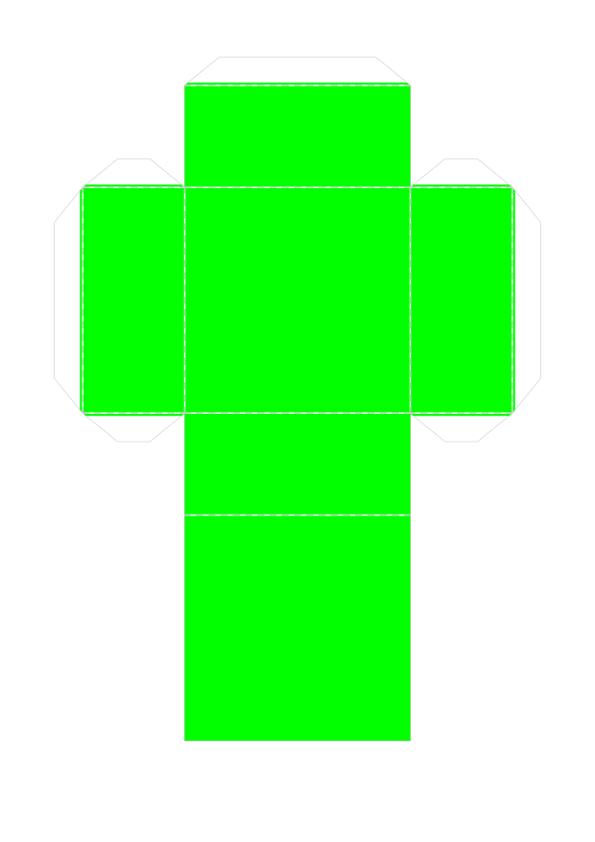 Шаблон объёмного танграма из бумаги для распечатки_6