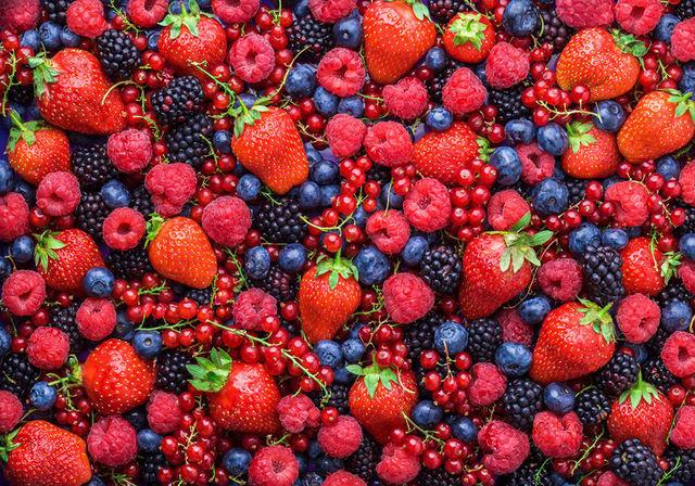 Лесные ягоды сжигают жиры