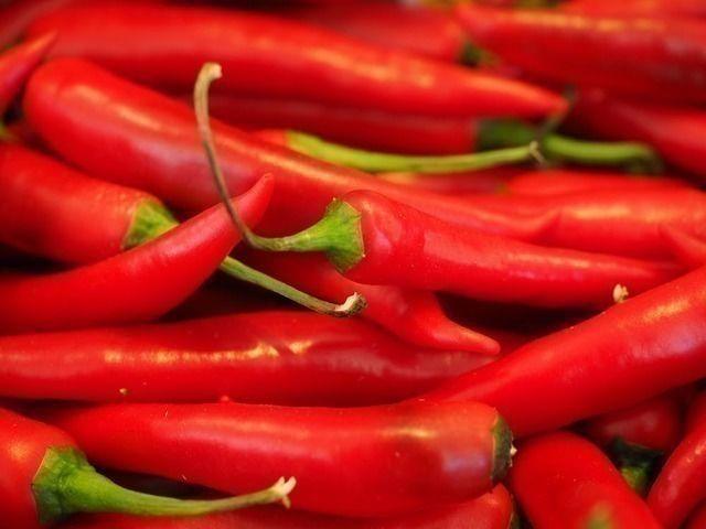 Чили содержит бета-каротин