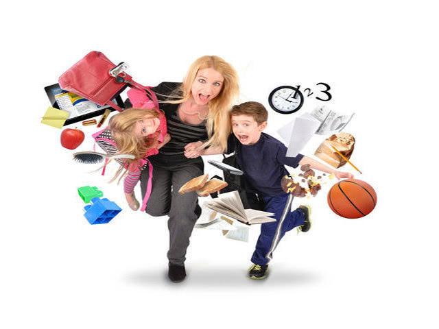 Как маме успевать всё и избежать стресса