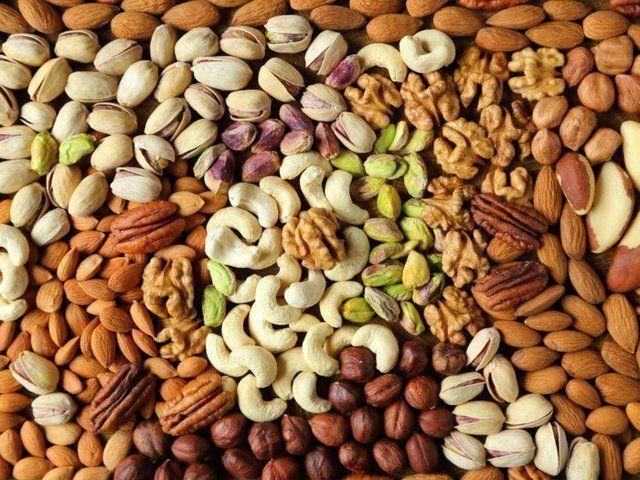 Орехи содержат питательные вещества